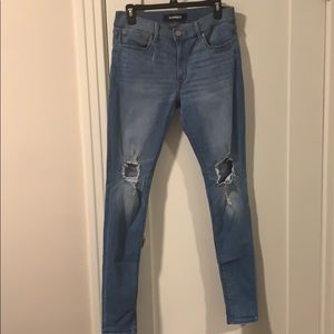 Express Jeans size 10 Long